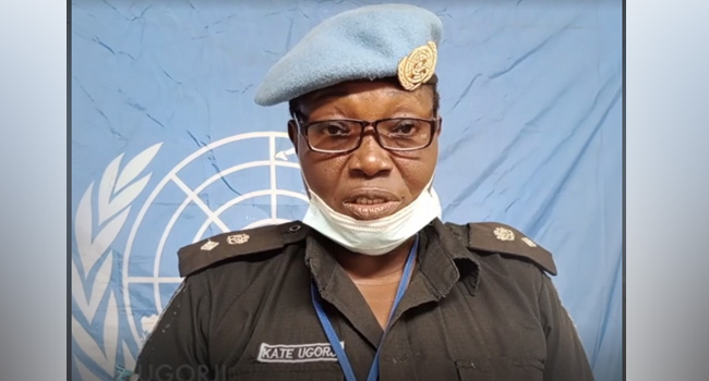 Nigerian Selected For UN Woman Police Officer Of The Year Award