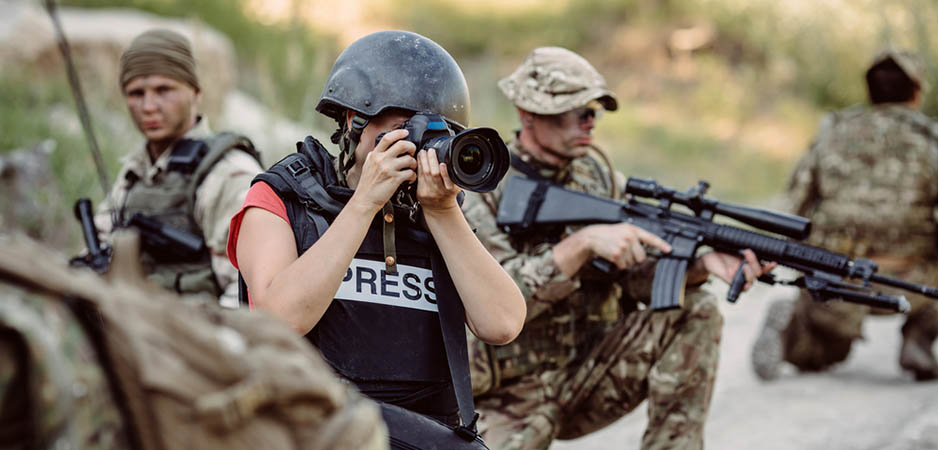 Is there a difference between Press and Journalist?