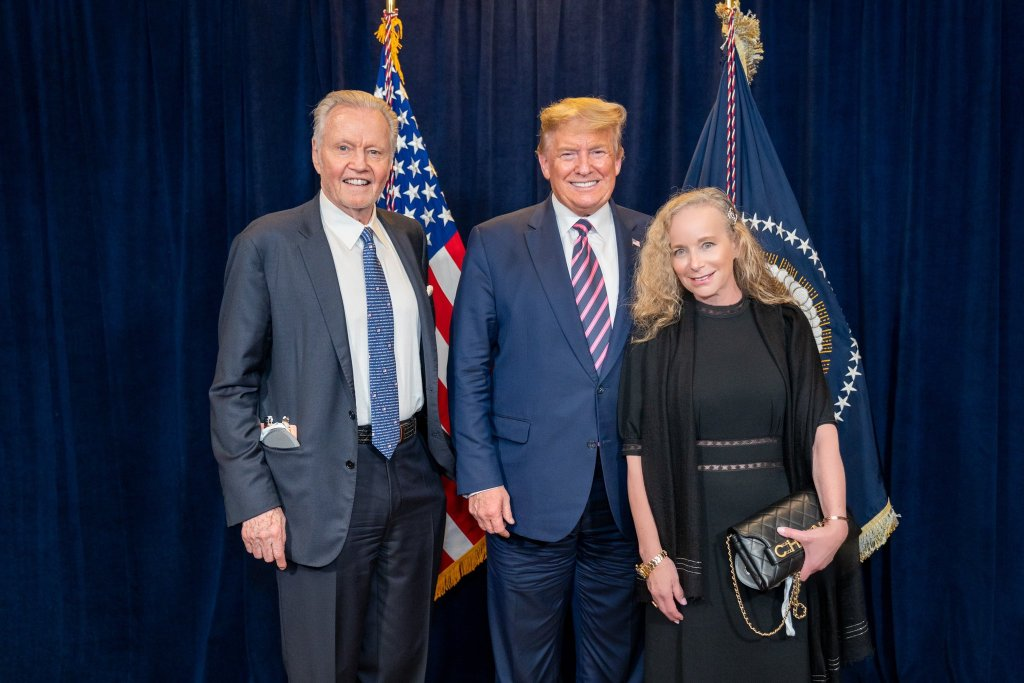 Jon Voight Compares U. S election win to righteousness and Satan