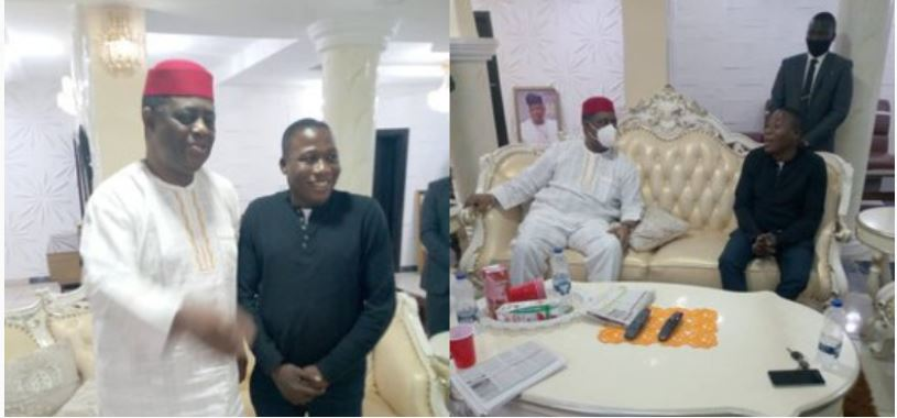 Fani-Kayode visits Igboho, canvasses Nigerians be permitted to carry guns