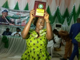 Florence Babasola wins NUJ Reporter of the Year in Osun.