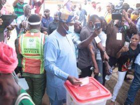 Lagos Bye-Election: Gbadamosi votes, accuses APC of sponsoring violence in Ikorodu