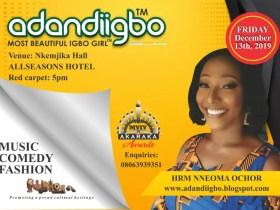 All is set to host season 15 of Adandiigbo Cultural Pageant