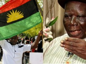 IPOB To Edwin Clark: You Have No Mandate To Speak For Niger Delta On Biafra