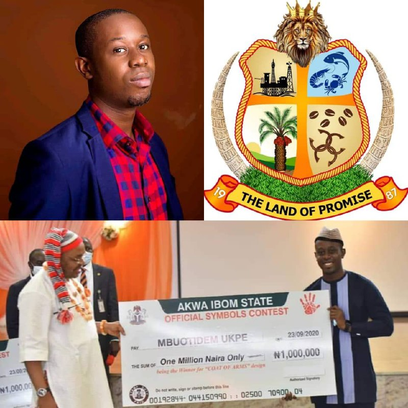 Krox Ukpe: The journey to becoming designer of Akwa Ibom's Coat of Arms