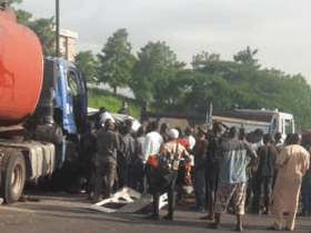Otedola Bridge accident: woman died and many injured