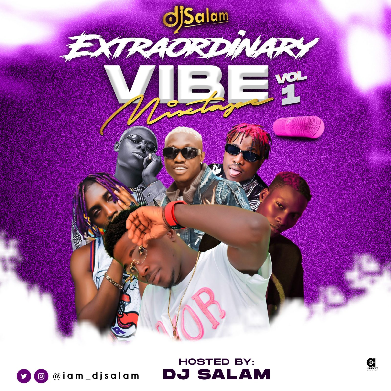 Mixtape: DJ Salam – Extraordinary Vibe Mix Vol 1