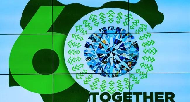 President Buhari Unveils 'Nigeria At 60' Logo