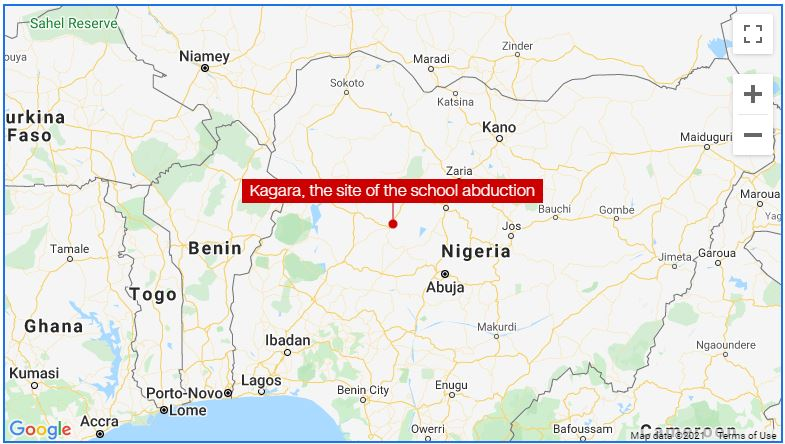 At least 27 students kidnapped as armed men in Military Uniforms storm Niger school