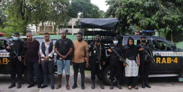 66 Nigerians, others from Africa jailed in Bangladesh for fraud