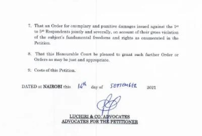 Nnamdi Kanu sues Kenya over extradition to Nigeria
