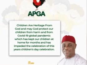 Children's Day Celebration: Oye Describes Children As Heritage From God