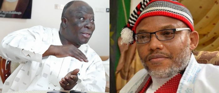Why I am in war with Nnamdi Kanu and why the North have so much power - Pa Ayo Adebanjo