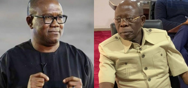 What happened to Adams Oshiomole compared to Peter Obi in 2017