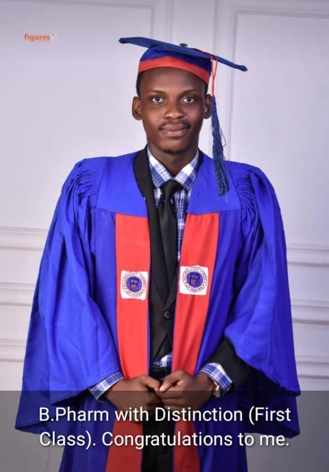 Meet Pharm. Adebisi Yusuff Adebayo who graduated First Class from UI with over 50 research articles