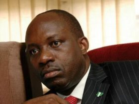 'Anambra created by God, Soludo created by fraud' placards states as Group storm INEC, demand Soludo's exclusion