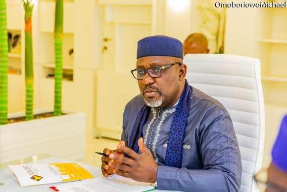 Sack everyone working with you, Okorocha tells Buhari