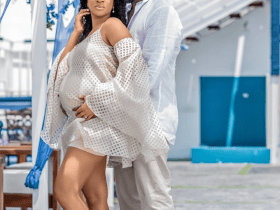 Adesua and Bank W welcomes a baby boy
