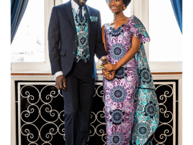 Highly fashioned Ankara men and women can wear to any function