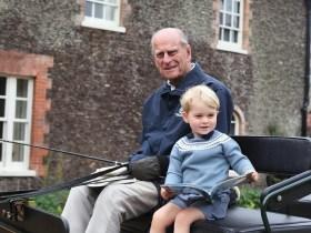 Prince William shared rare picture of his grandfather, Prince Phillip