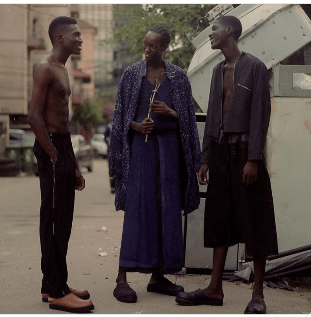 Why people greet the clothe before the wearer; Adeju Thompson