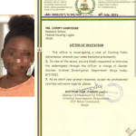 Police invites activist for protesting the death of a secondary school girl