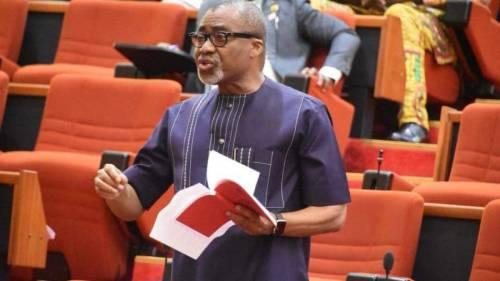 Lauretta Onochie: Buhari, gone against the Constitution - Senator Abaribe