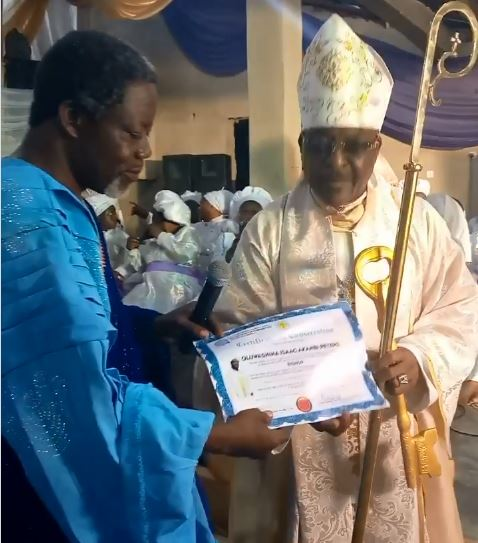 Sir Shina Peters Ordained as Bishop in CAC