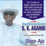 Itsekiri Bible translator, Deacon Stephen Aganbi's burial date announced