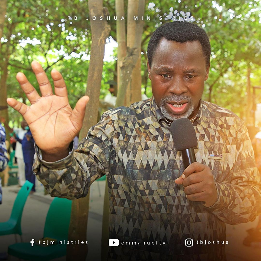 Prophet T.B. Joshua is dead at 57; days to 58th birthday