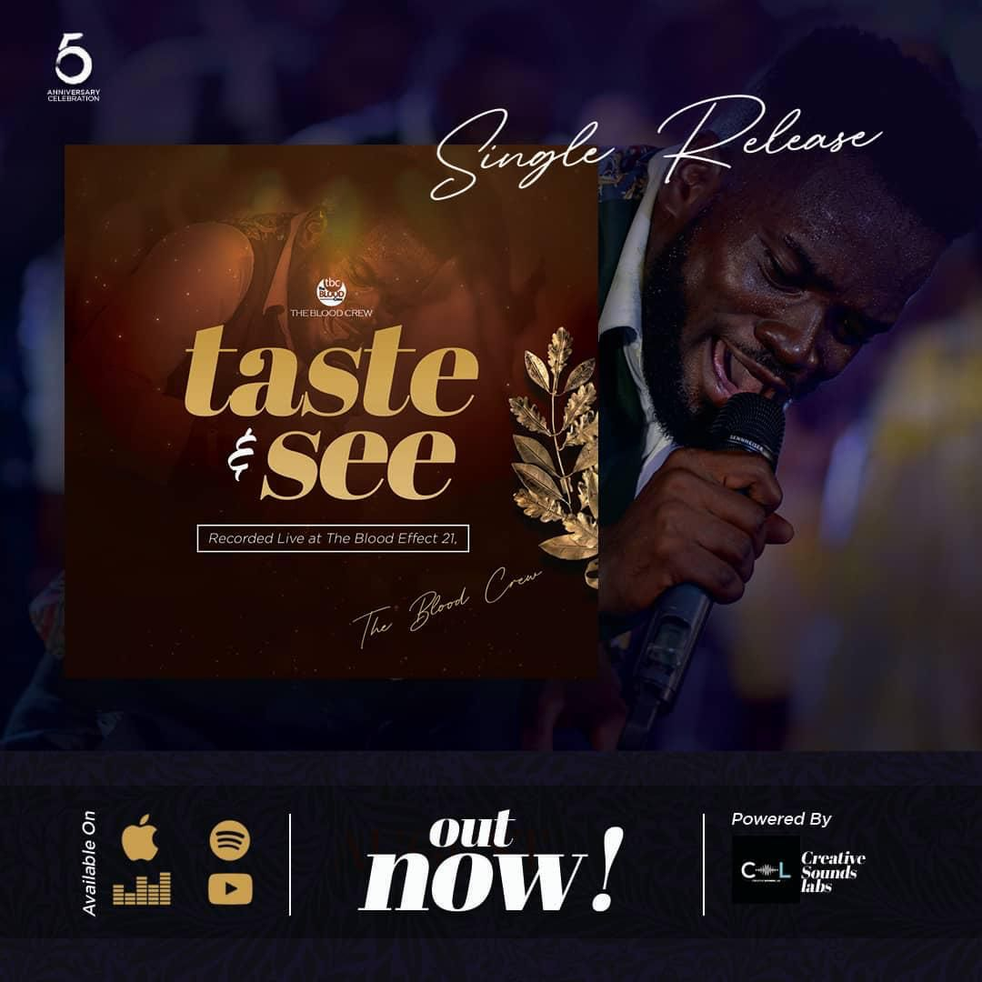 The Blood Crew - Taste and See Ft Sammy Joyous