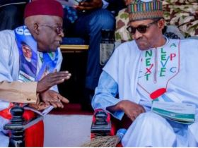 'Buhari and Tinubu are strong allies' - Presidency