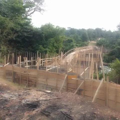 OGUN UNCOVERS UNAUTHORISED BRIDGE IN OMO FOREST