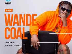 Wande Coal signs-up with Talent Manager, Godwin Tom