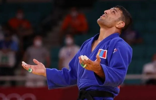 Iranian Refugee, Saeid Mollaei Thanks Israel After Silver Medal Win at Tokyo Olympics