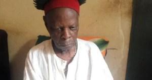 Nsugbe: Pa Arinze Obiagwu leads protest to Igwe Victor Ntorka