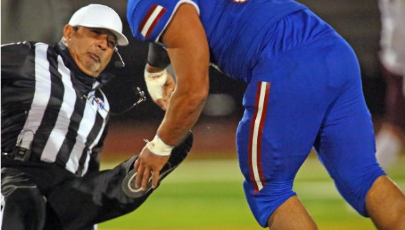 Attack on Referee: Edinburg High, football player charged with assault