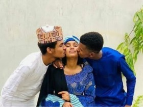 Arewa Twitter users come for siblings after affectionate photo