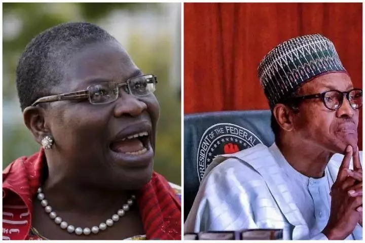 "Benin Prison Break: ""Stop that expensive Joke "" - Oby Ezekwesili tells Buhari"