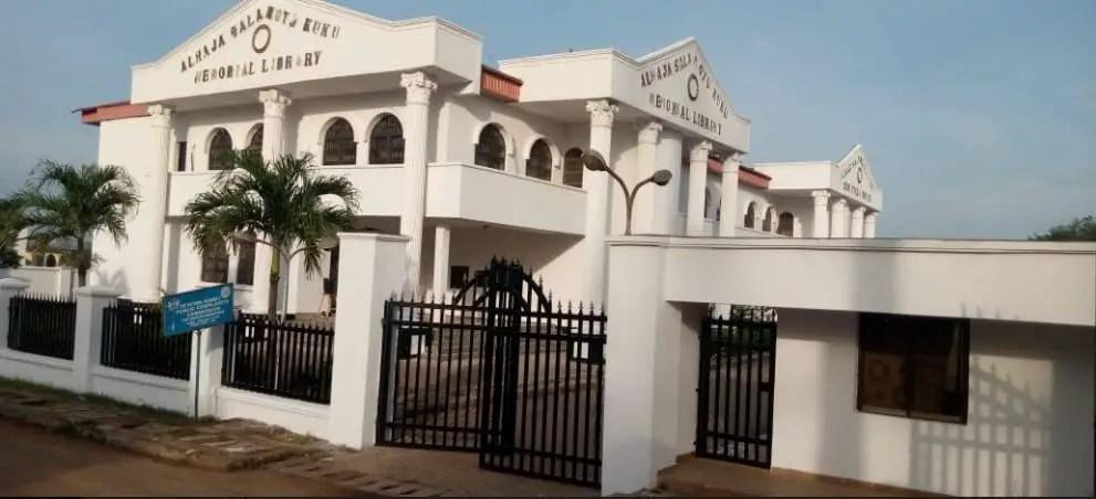 Alajah Salanotu Kuku Memorial Library