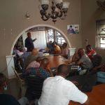 Dr. GODWIN MADUKA MEETS ANAMBRA STATE PDP YOUTH DELEGATES AT PDP SECRETARIAT