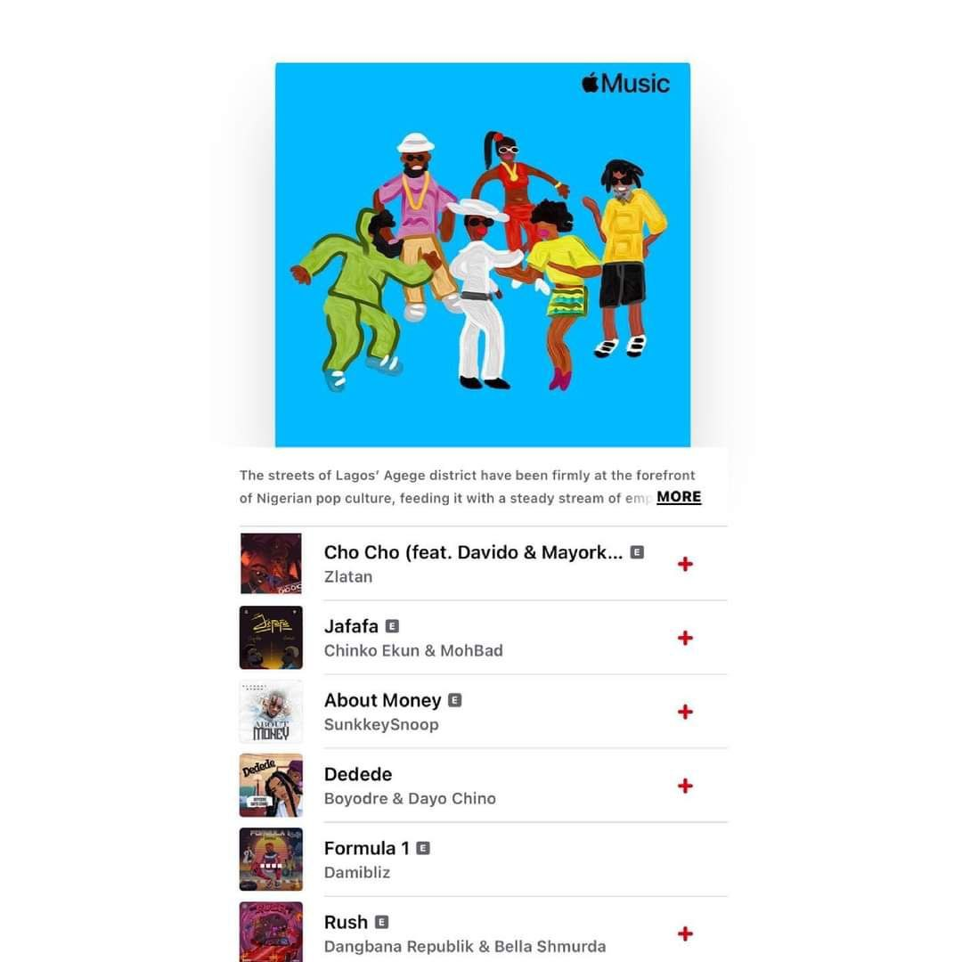 Formula 1 by Damibliz maintains No. 5 on Apple Music Chart for 14days