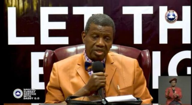 COVID-19: My take on the use of Face Mask - Pastor Adeboye