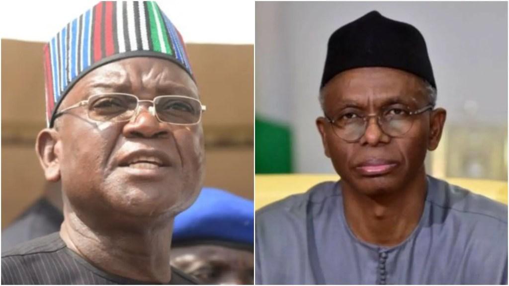 Ortom to El-Rufai: You're one of the sycophants misleading Buhari