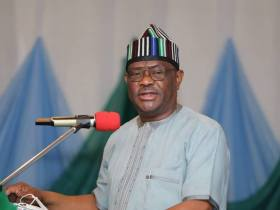 Ask Buhari to conduct free, credible polls, Wike tells UN