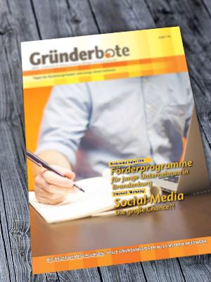 Gründerbote - Das GBFSE Magazin
