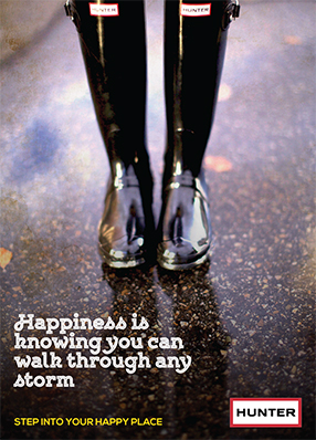 Hunter Boots: Step Into Your Happy Place