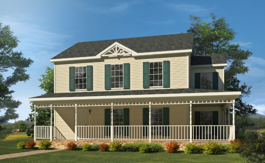 Sagamore   Two Story Style Modular Homes Sagamore