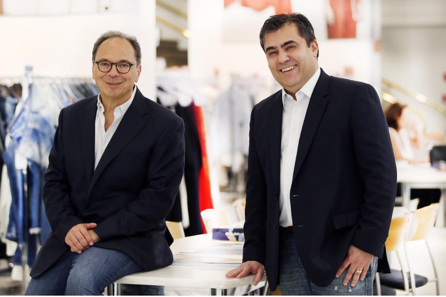 Ricardo Steinbruch (à esquerda na foto), presidente do Conselho de Administração, ao lado de José Maurício D'Isep.