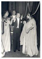 Elena Nicolai, Franco Corelli, Antonino Votto e Maria Callas